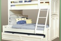 Bunk Bed Twin Over Full With Trundle White