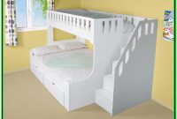 Bunk Bed With Steps And Desk