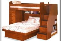 Bunk Beds Twin Over Queen With Stairs