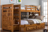 Bunk Beds Twin Over Twin Stairway