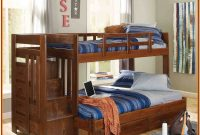 Bunk Beds Twin Over Twin Stairway White
