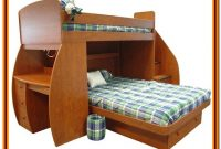 Bunk Beds Twin Over Twin With Desk