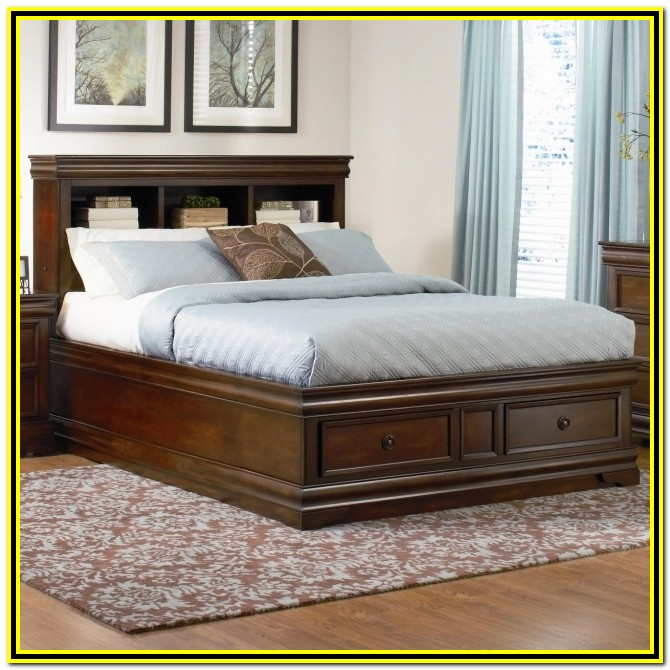 Cal King Bed Frames With Drawers