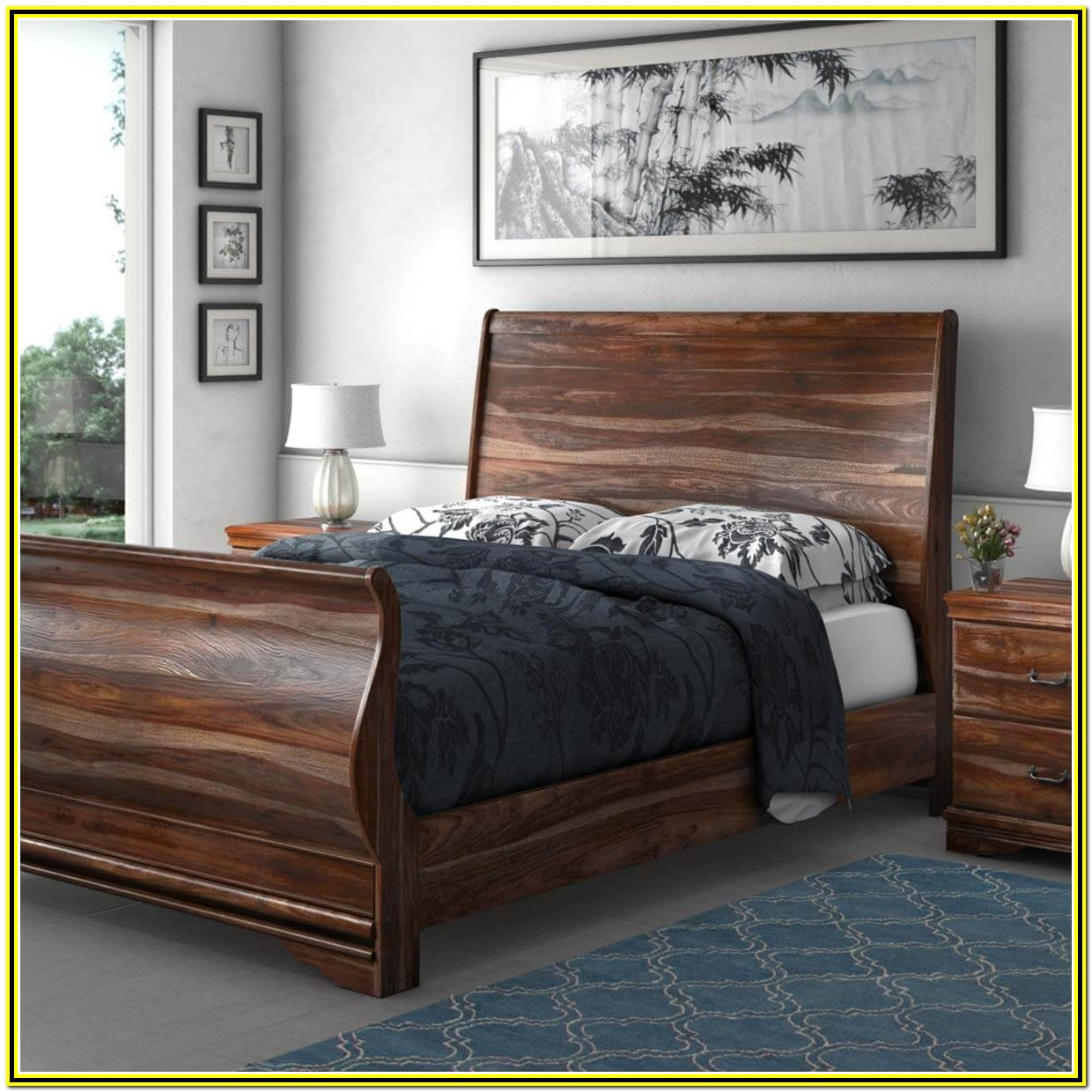 Cal King Size Bed Frame