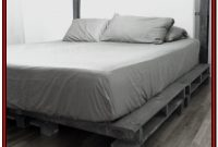 California King Platform Bed Frame Diy