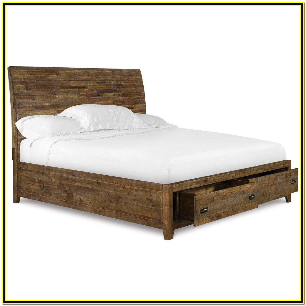 California King Size Bed Frame And Mattress