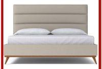 California King Upholstered Platform Bed Frame