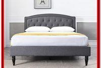 Decoro Mornington Upholstered Platform Bed Frame King