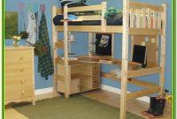 Diy Bunk Bed With Desk Plans