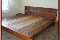 Diy King Platform Bed Frame Plans