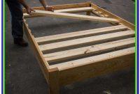 Easy Full Size Platform Bed Plans