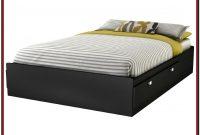 Full Size Platform Bed With Headboard Storage