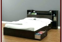 Full Size Platform Bed With Storage Underneath