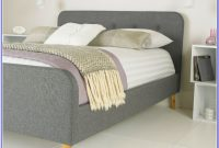 Grey Fabric Bed Frame Ebay