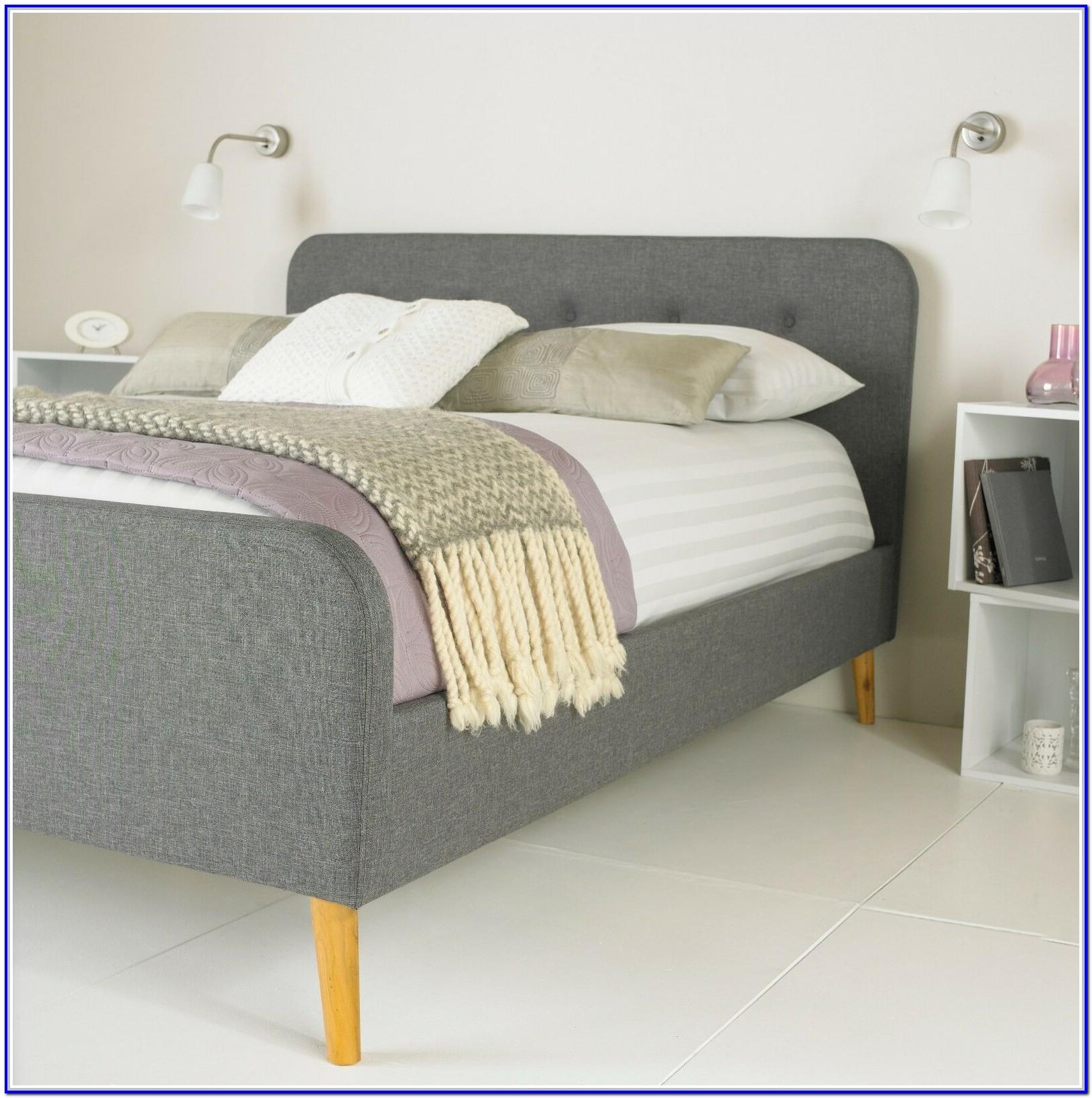 Grey Fabric Bed Frame Ebay