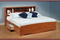 How To Build A King Size Platform Bed Frame With Storage