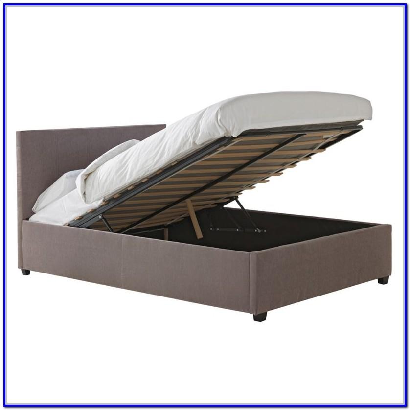 Hygena Heathdon Grey Fabric 2 Drawer Double Bed Frame
