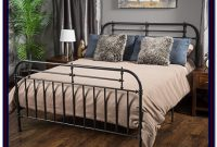 Iron Bed Frame Queen White