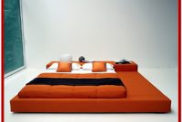 Japanese Style Platform Bed With Storage