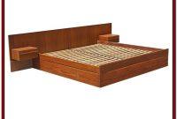 King Platform Bed Frame Plans Free