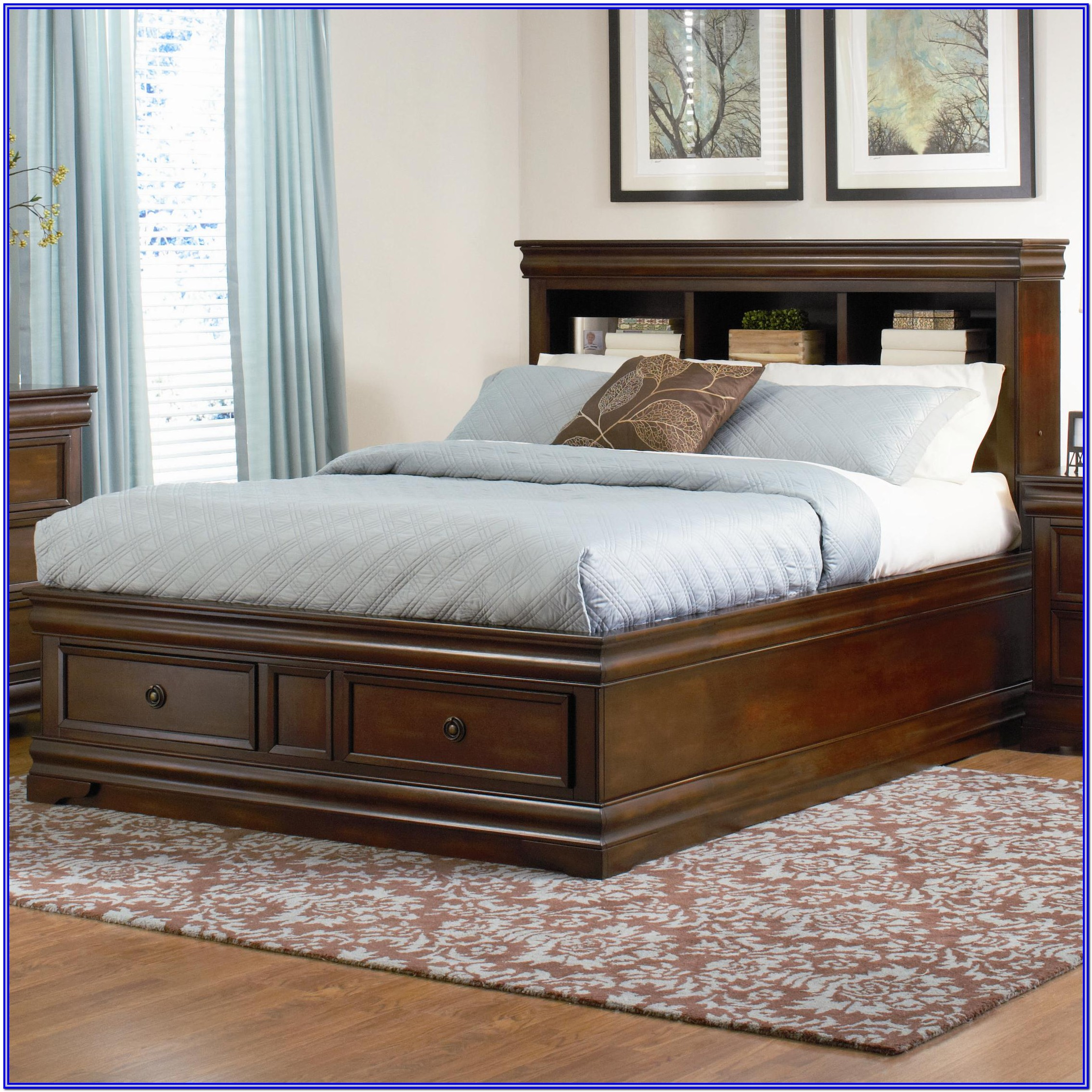 King Size Adjustable Bed With Storage