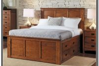 King Size Bed Platform With Drawers