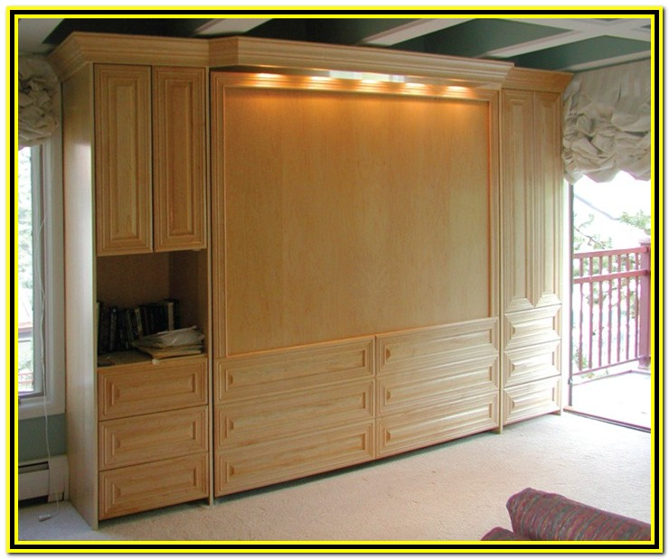 King Size Murphy Bed Dimensions