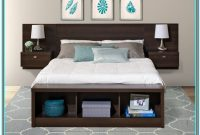 King Size Platform Bed With Headboard And Storage