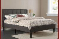 King Size Upholstered Platform Bed Frame