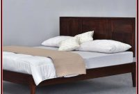 King Size Wood Platform Bed Frame With Headboard