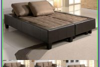Leather Convertible Sectional Sofa Bed