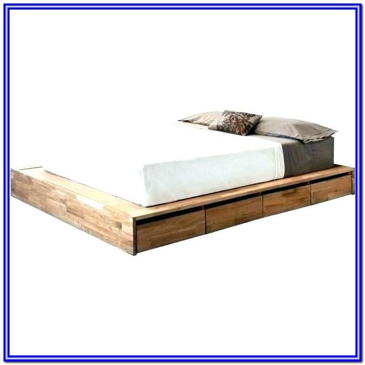 Low Platform Bed Frame Diy