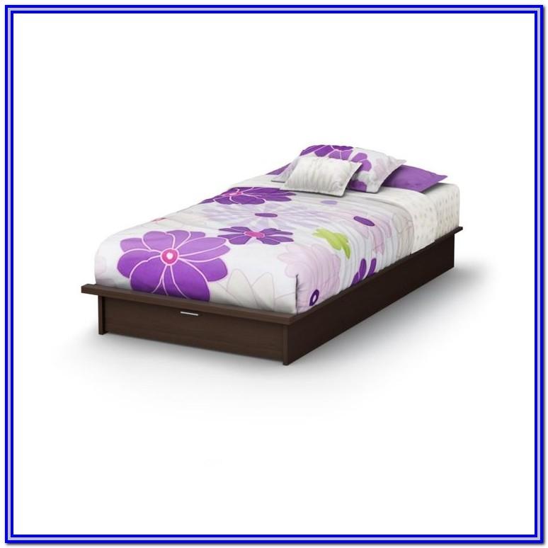 Low Platform Bed Frame Twin