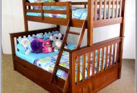 Merax Twin Over Twin Solid Wood Bunk Bed With Trundle