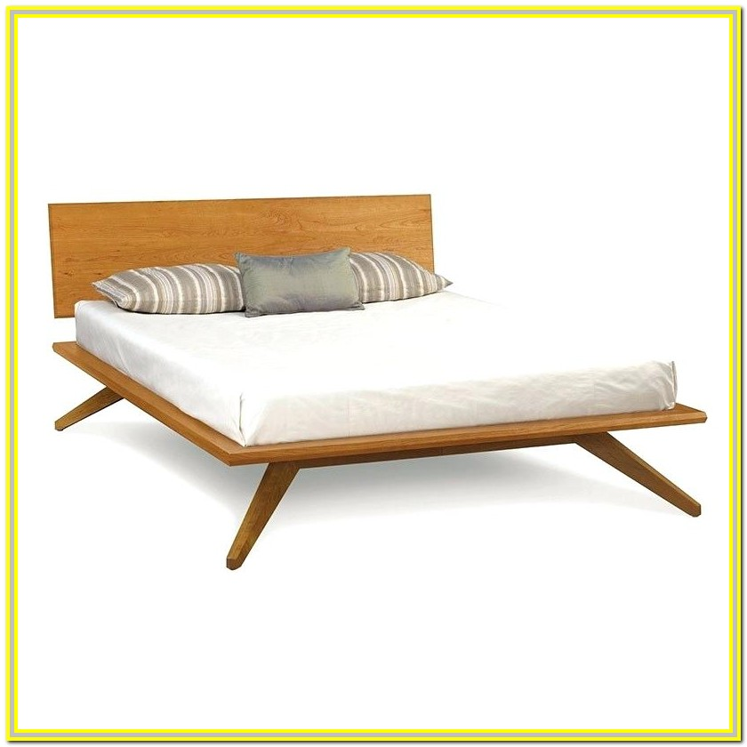 Mid Century Platform Bed California King