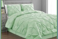 Mint Green And Grey Comforter Set