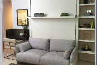 Murphy Bed With Couch Dimensions