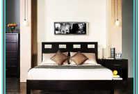 Nevis King Size Platform Bed With Headboard Footboard And Rails Espresso