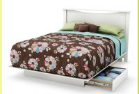 Platform Beds With Drawers Queen Size