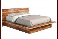 Platform King Bed Frame Wood