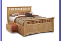 Queen Bed Frames With Drawers Underneath