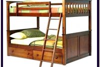 Queen Size Bunk Bed With Desk