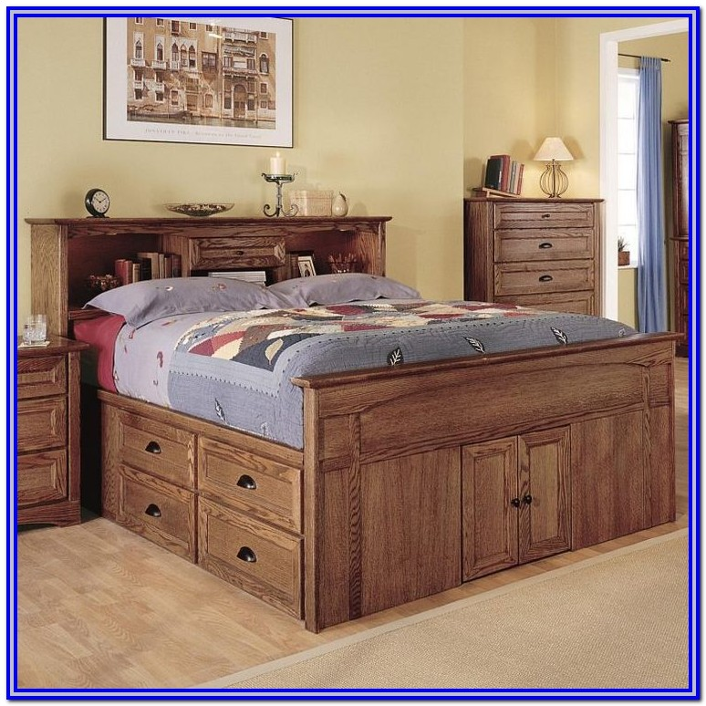 Queen Size Captain Bed Frame Plans