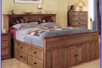 Queen Size Captains Bed White
