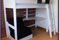 Queen Size Loft Bed With Desk Underneath