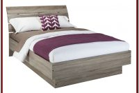 Queen Size Platform Bed With Storage And Headboard