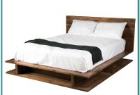 Rustic Platform Bed Frame King