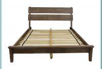 Rustic Platform Bed Frame Queen