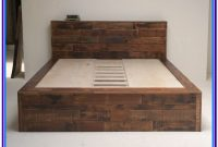 Rustic Wood Bed Frame Full Size