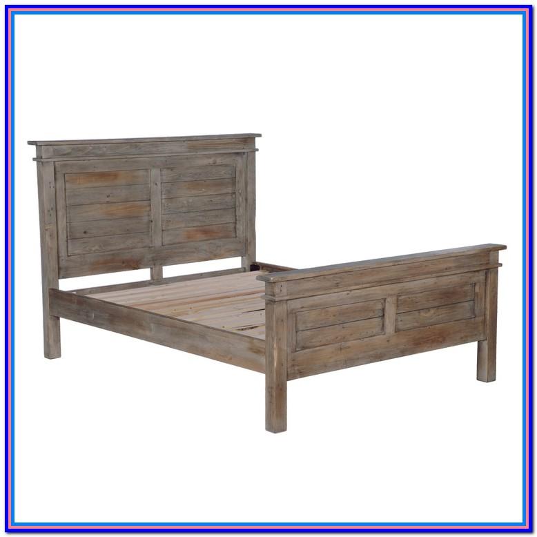 Rustic Wood Bed Frames